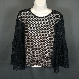 3 for $10- J. CREW blouse size 6 bell sleeve